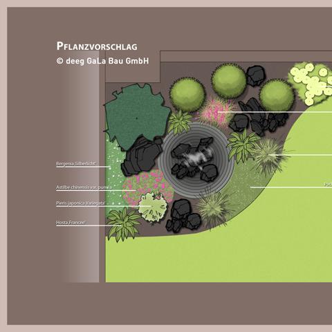 deeg Gartenbau Gartengestaltung Pflanzvorschlag