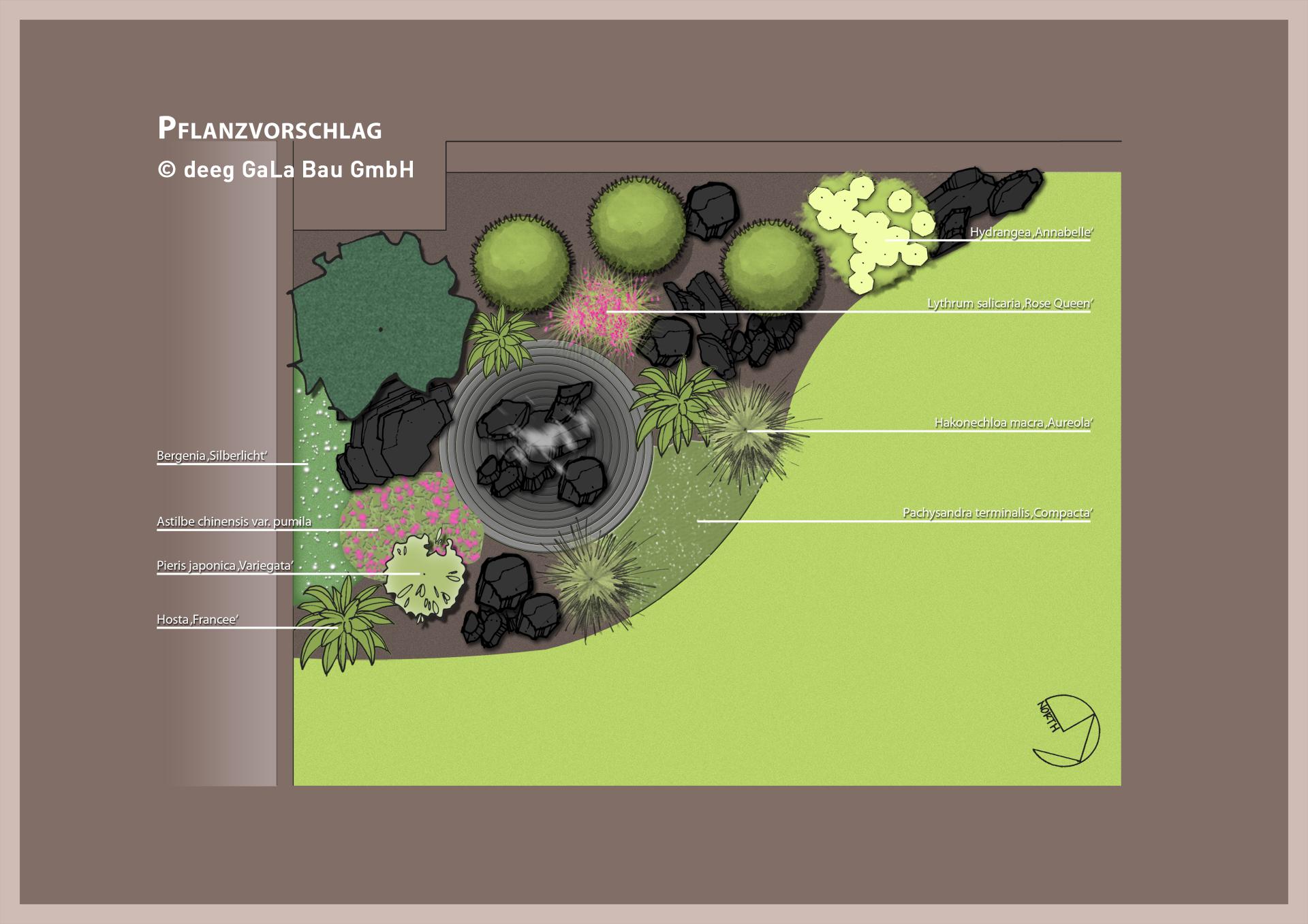 Pflanzvorschlag deeg Gartenbau