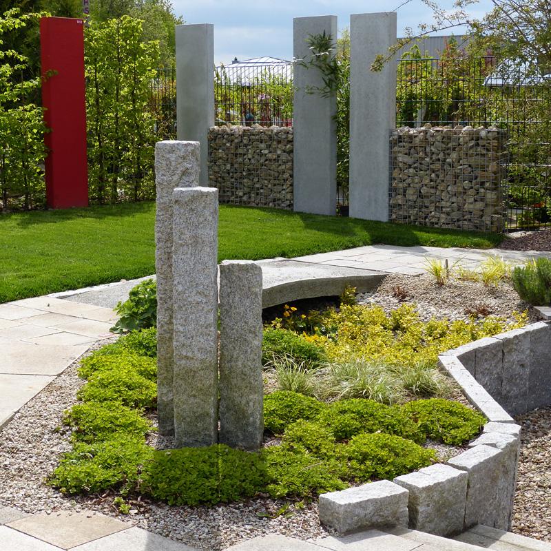 Steinarbeiten im Garten deeg Landschaftsgärtner